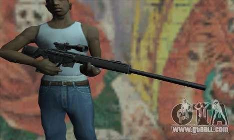 PSG-1 for GTA San Andreas third screenshot