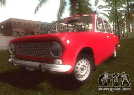 Fiat 124 for GTA San Andreas