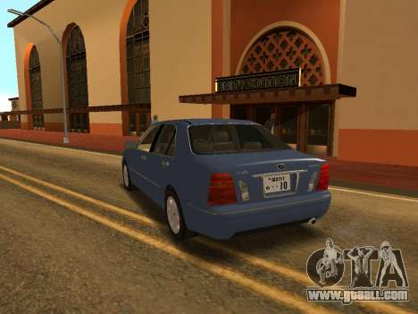 Toyota Progres for GTA San Andreas left view