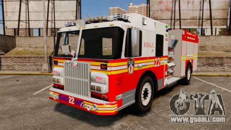Firetruck FDLC [ELS] for GTA 4