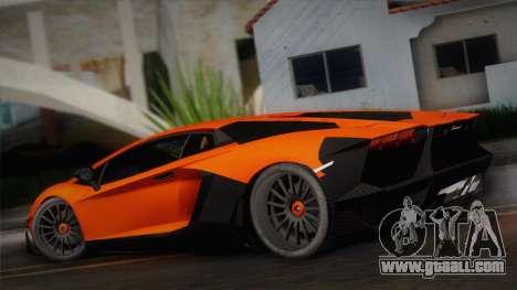 Lamborghini Aventador LP 700-4 RENM Tuning for GTA San Andreas left view