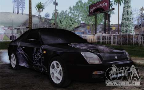 Honda Prelude 2.2 VTi DOHC VTEC 1996 for GTA San Andreas side view