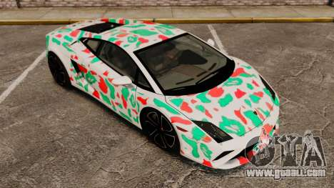 Lamborghini Gallardo 2013 v2.0 for GTA 4 bottom view