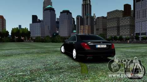 Mercedes-Benz S-Class W222 2014 for GTA 4 side view