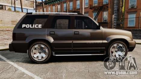 Cavalcade Police for GTA 4 left view
