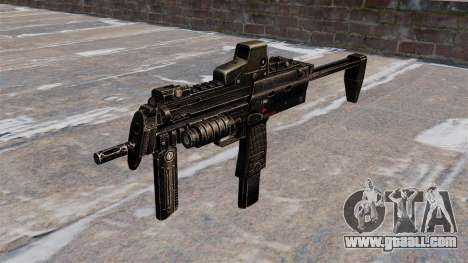 MP7 submachine gun for GTA 4