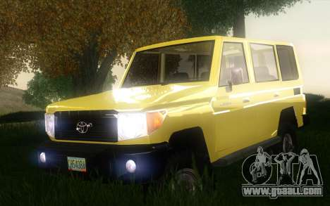 Toyota Land Cruiser Machito 2013 6Puertas 4x4 for GTA San Andreas