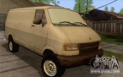 Dodge RAM Van 1500 for GTA San Andreas