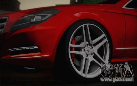 Mercedes-Benz CLS 63 AMG 2012 Fixed for GTA San Andreas