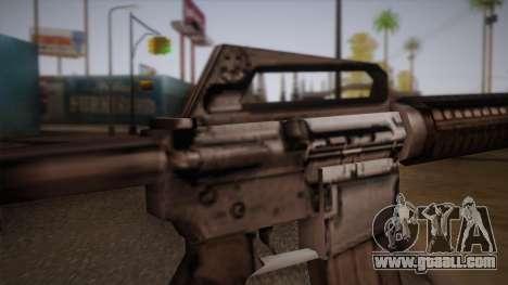M4 from Max Payne for GTA San Andreas forth screenshot