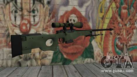 AWP from CS:GO for GTA San Andreas second screenshot