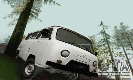 UAZ 2206 Loaf for GTA San Andreas back left view
