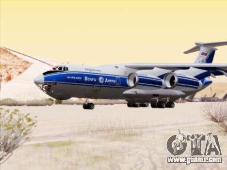 Il-76td-90vd to Volga-Dnepr for GTA San Andreas