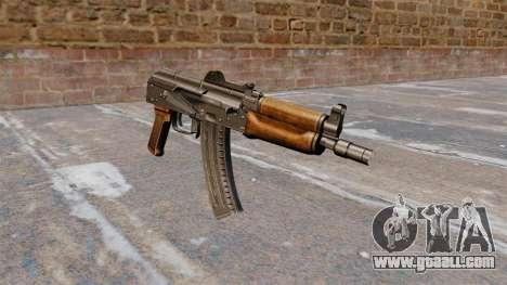Automatic AKS74U for GTA 4