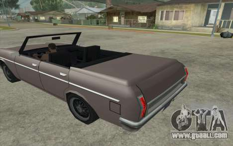 Perennial Cabriolet for GTA San Andreas left view