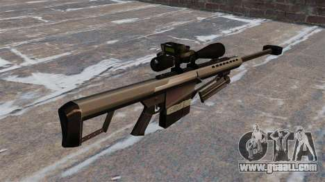 The Barrett M82 sniper rifle 50 Cal for GTA 4 second screenshot