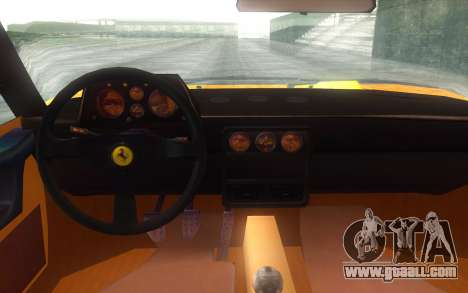 Ferrari 328 GTB for GTA San Andreas right view