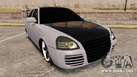 Vaz-2170 Lada Priora Turbo for GTA 4
