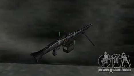 Machine gun MG-3 for GTA Vice City third screenshot