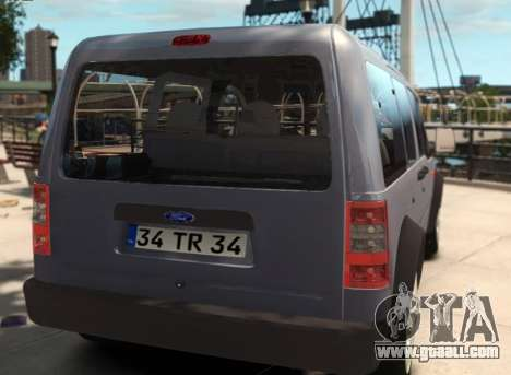 Ford Transit Connect for GTA 4 left view