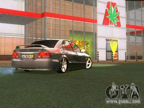 Mitsubishi Galant for GTA San Andreas right view