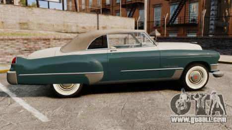 Cadillac Series 62 1949 for GTA 4 left view
