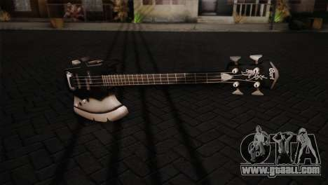 Guitar, KISS for GTA San Andreas second screenshot