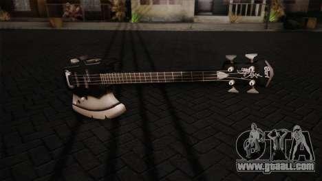 Guitar, KISS for GTA San Andreas second screenshot
