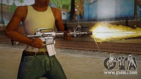 M4 from Max Payne for GTA San Andreas third screenshot