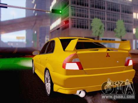 Mitsubishi Lancer Evolution VI LE for GTA San Andreas left view