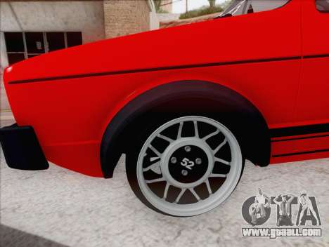 Volkswagen Golf GTI MK1 for GTA San Andreas left view
