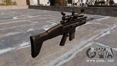 Automatic rifle FN SCAR-H for GTA 4 second screenshot