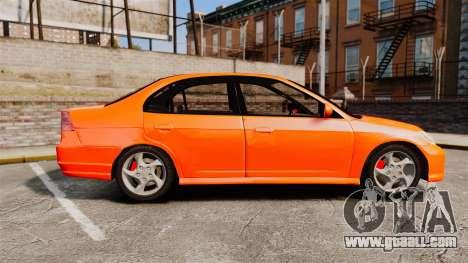 Honda Civic VTEC for GTA 4 left view