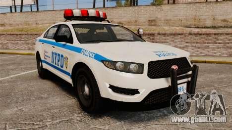 GTA V Police Vapid Interceptor NYPD for GTA 4