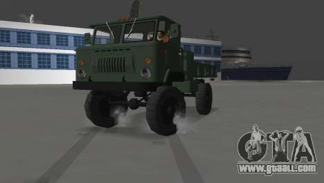 GAZ 66 for GTA Vice City back view