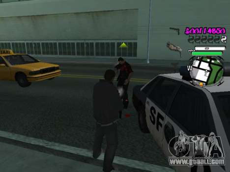 HUD for GTA San Andreas forth screenshot