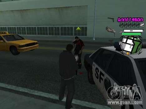 HUD for GTA San Andreas forth screenshot
