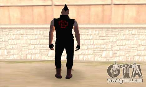 Till Lindemann for GTA San Andreas second screenshot