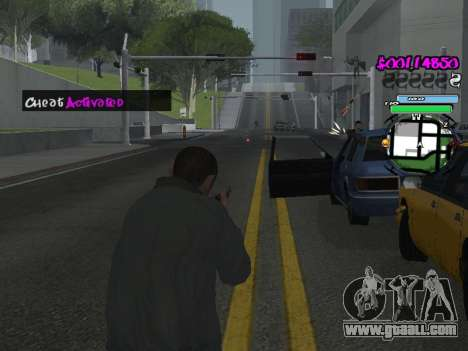 HUD for GTA San Andreas eleventh screenshot