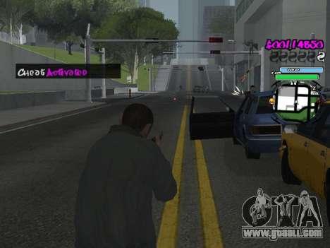 HUD for GTA San Andreas eleventh screenshot