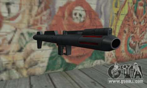 Missile launcher from Star Wars for GTA San Andreas