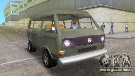Volkswagen Transporter T3 for GTA Vice City