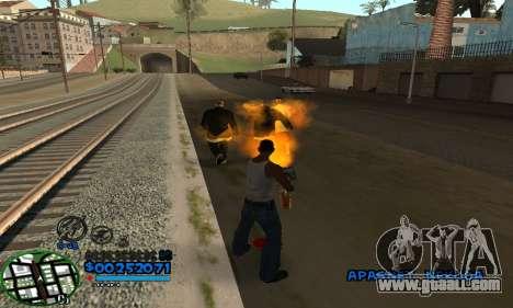 C-HUD CutHot for GTA San Andreas second screenshot