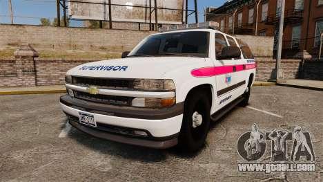 Chevrolet Suburban 2003 AMR [ELS] for GTA 4