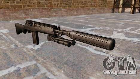 The M14 semi-automatic rifle for GTA 4