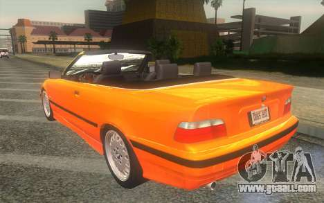 BMW 325i E36 Convertible 1996 for GTA San Andreas left view