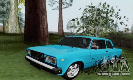 VAZ 2107 Coupe for GTA San Andreas left view