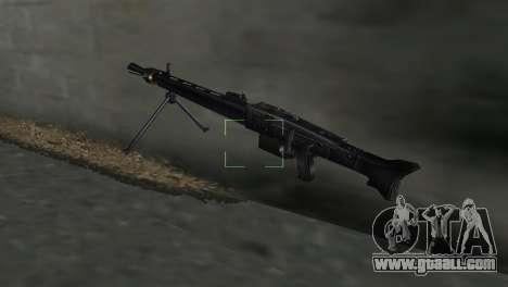 Machine gun MG-3 for GTA Vice City