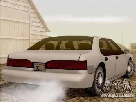 Fortune Sedan for GTA San Andreas left view