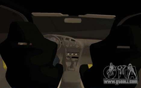 Mitsubishi Lancer Evolution VI for GTA San Andreas right view